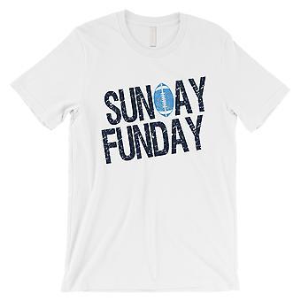 FUNDAY الأحد تي شيرت رجالي مضحك ولاية تينيسي اليوم لعبة الهدايا المحملة القميص