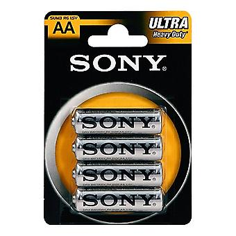 Sony Ultra AA batteries - pack of 4