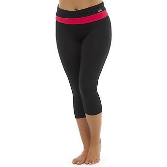 Ladies Tom Franken zwei Ton Sport Fitness-Studio 3/4 Hosen Mode Sportswear