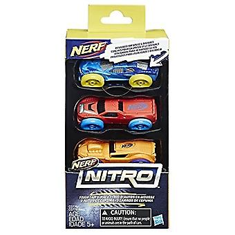 Nerf Nitro Foam Car 3-Pack (Version 2)