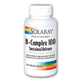 Solaray  B-Complex 100 - Sustained Release, 60 Tablets