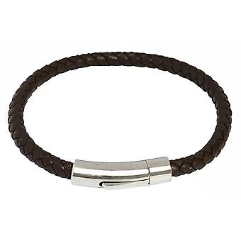Simon Carter Thin Woven Bracelet - Brown