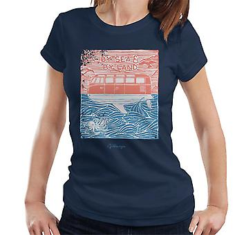 Official Volkswagen By Sea And Land Women's T-Shirt