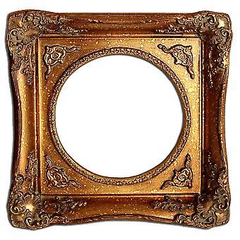 25x25 سم أو 10x10 بوصة، إطار الصورة الذهبية