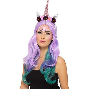 Tworzą FX Unicorn zestaw makijaż twarzy kolor karnawał akcesorium zestaw jednorożca