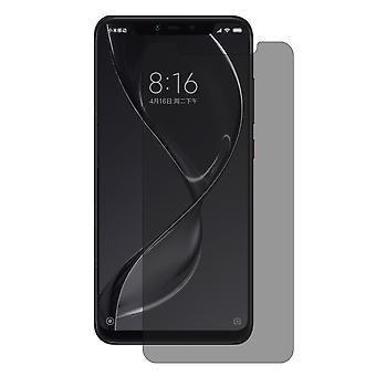 Xiaomi MI 8 näyttävät suojaavan säiliö lasi Anti-Spy suojakalvo 9 H - 1 kpl