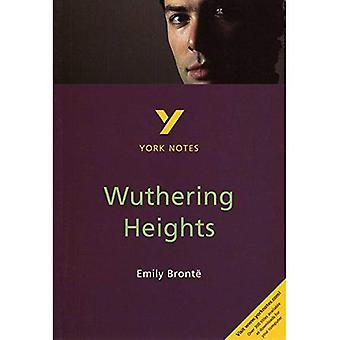 York Notes sur Wuthering Heights de Emily Bronte (York Notes)