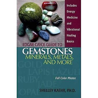 Edgar Cayce guía de piedras preciosas, minerales, metales y más