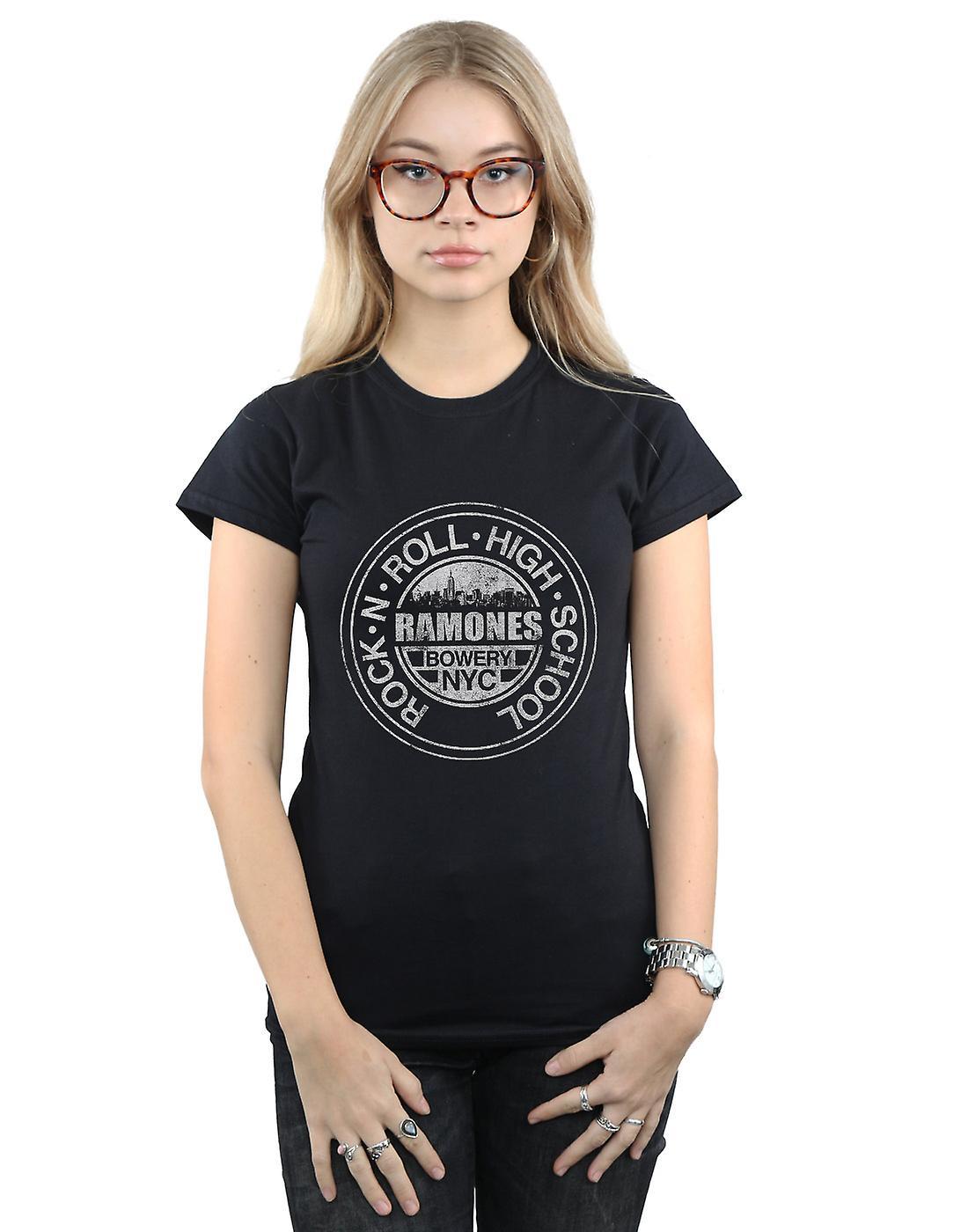 Ramones Women's Bowery NYC T-Shirt