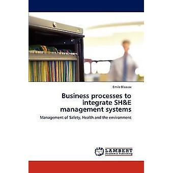 Geschäftsprozesse zu integrieren sie Managementsysteme von Blaauw & Emile