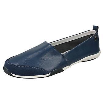 Hyvät maanläheinen tasainen slip kengät