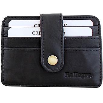 Rallegra Slim Card Holder Wallet - Black