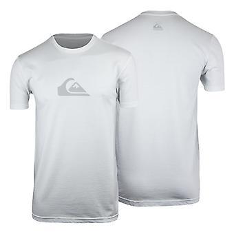 Quiksilver Herren jeden Tag Logo T-Shirt-weiss/grau