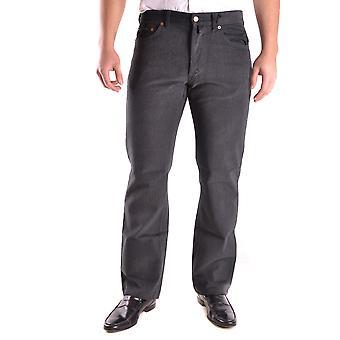 Gant Ezbc144024 Uomini's Grey Denim Jeans