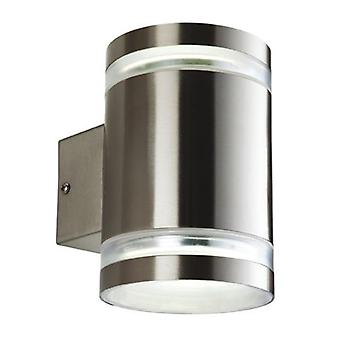 Erstlicht-2 Light Wall Light Edelstahl IP44-7405ST