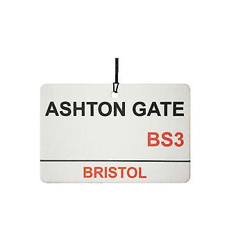 Bristol City / Ashton Gate Street Sign auto luchtverfrisser