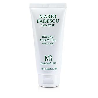 Mario Badescu Rolling Cream Peel With Aha - For All Skin Types - 73ml/2.5oz