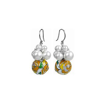 Belle Etoile Yellow Botanique Earrings 03030911002