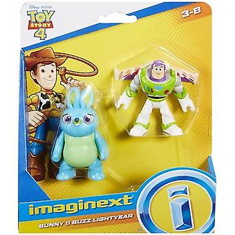 Toy Story 4 Figurer - Bunny och Buzz Lightyear