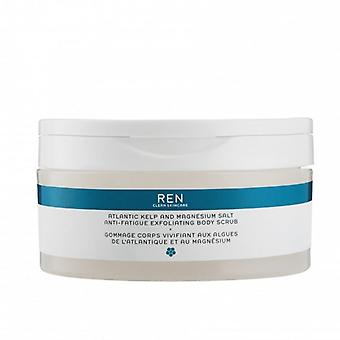 REN Atlantic Kelp e Magnesio Anti-Fatigue Esfoliante Corpo Scrub 150ml