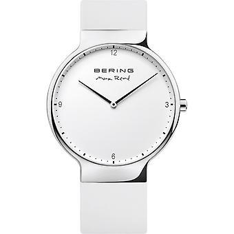 Bering Montre homme Montre-bracelet Max René Ultra Slim - 15540-904 Silicone