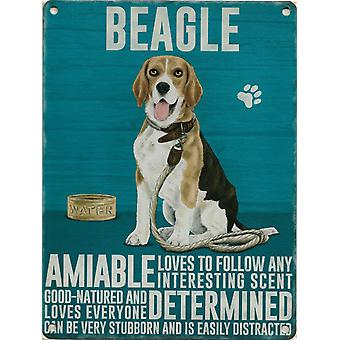 Paroi moyenne Plaque 200 x 150 mm - Beagle
