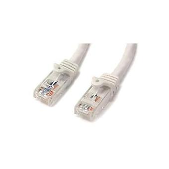 StarTech 3M witte Snagless UTP CAT6 Patch kabel