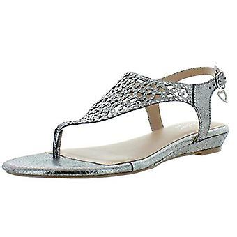 Thalia Sodi naisten Ilyssa koristellut Mini kiila remmi sandaalit