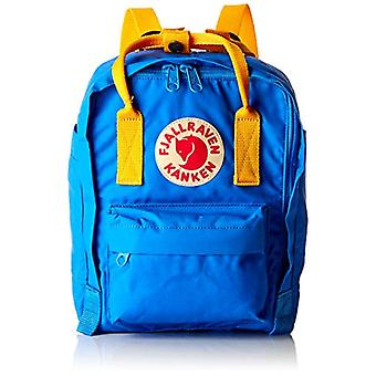FJALLRAVEN K nken Mini - Unisex Backpacks Adult - Blue (A Blue/Warm Yellow) - 24x36x45 cm (W x H L)