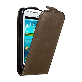 Cadorabo Hülle für Samsung Galaxy S3 MINI Case Cover - Handyhülle im Flip Design mit Magnetverschluss - Case Cover Schutzhülle Etui Tasche Book Klapp Style