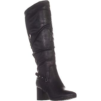 Bare Traps Womens Amarie Fabric Closed Toe Knee High Fashion Boots