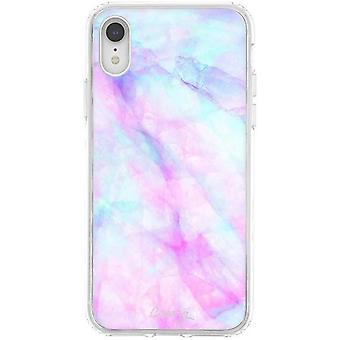 The Casery Iridescent Crystal iPhone XR Case - Blue/Purple/Pink