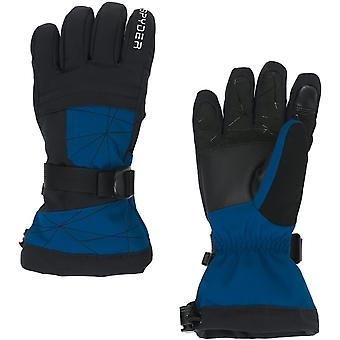 Spyder OVERWEB Gore-Tex Jungen Ski Handschuhe schwarz