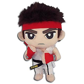 Plush - Street Fighter V - Ryu 8'' Toys Soft Doll Licensed ge52186