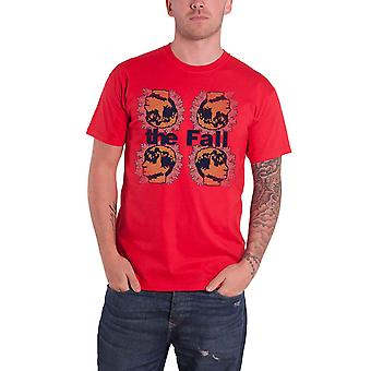 The Fall T Shirt Mark Four Red Band Logo Mark E. Smith new Official Red