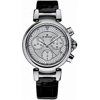 Edox Women's Watch 10220 3C AIN Chronographs