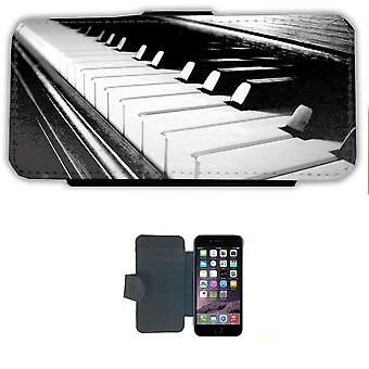 Piano iPhone 7/8 wallet case case Picture wallet shell