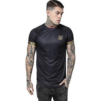 Sik Silk Tech T-Shirt Black 09