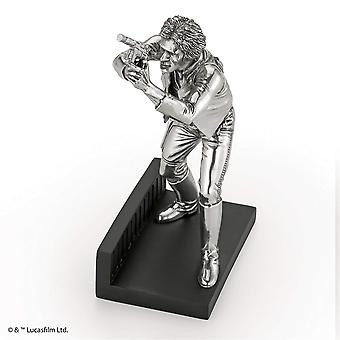 Star Wars By Royal Selangor ES6970B LIMITED EDITION Han Solo Pewter Figurine