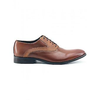 Made in Italia - Shoes - Lace-up shoes - JOACHIM_CUOIO - Men - chocolate - 46
