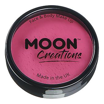 Moon Creations - Pro Face & Body Paint Cake Pots - Dark Pink