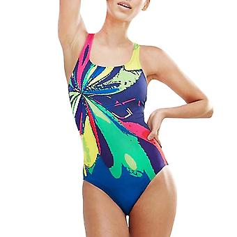 arena Womens Nova One Piece Pro Back Training Swimming Swimsuit Costume - Navy