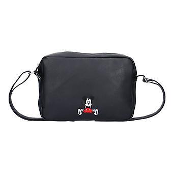 Disney Mickey Mouse ikuisesti kuuluisa musta olka laukku