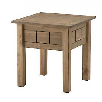 Santiago Lamp Table Distressed Pine