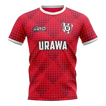 2020-2021 Urawa Red Diamonds Home Concept Football Shirt - Womens