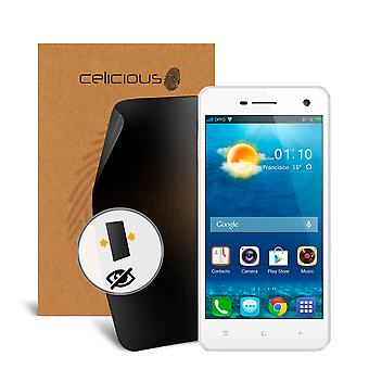 Celicious Privacy 2-Way Anti-Spy Filter Screen Protector Film Compatible with Oppo R819