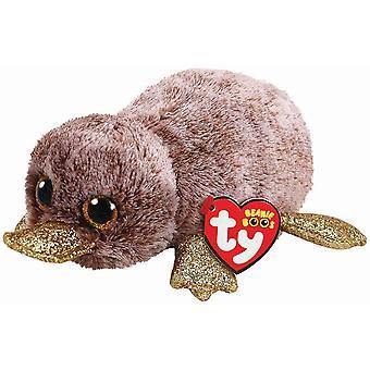 Ty Beanie boos Perry bruin Platypus speelgoed