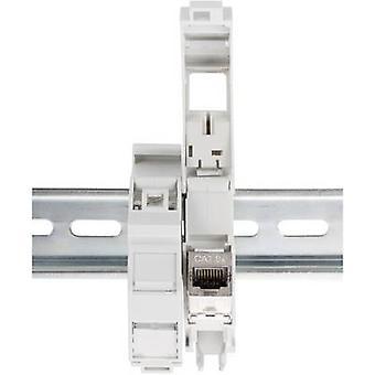 Digitus AN-25187 IP20 Keystone DIN ray lı DIN raylı