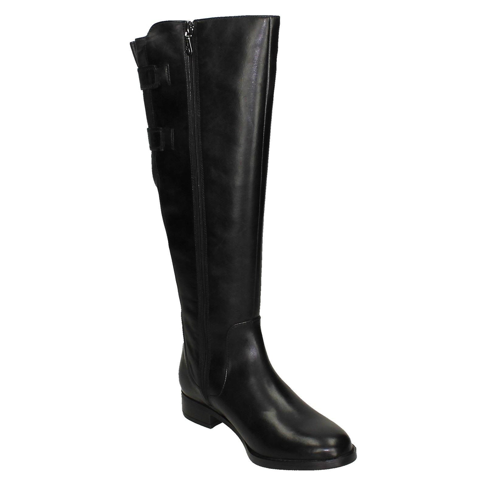 Damer Clarks knæ høje støvler Netley ride