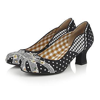 Ruby shoo vrouwen ' s Paula mid hak Hof schoen & bijpassende tas van Dallas